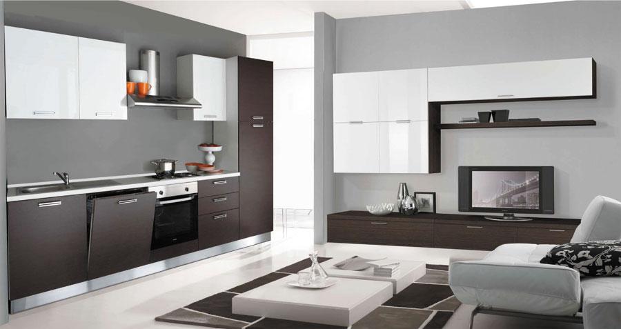 Awesome Pareti Attrezzate Cucina Gallery - Ideas & Design 2017 ...